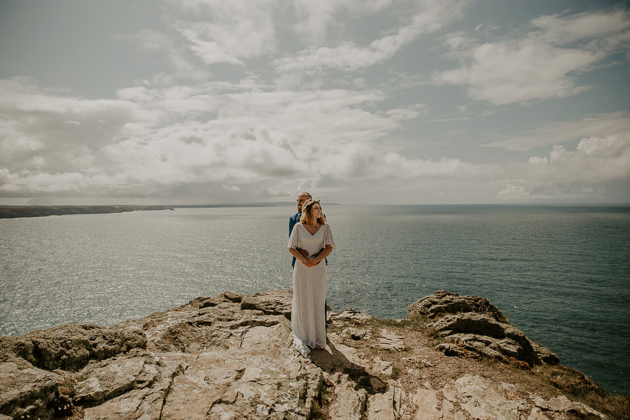 st-agnes-beach-cliff-top-elopement-wedding-photography-fine-art-luxury-alternative-devon-destination-wedding-photographer-the-unbridled